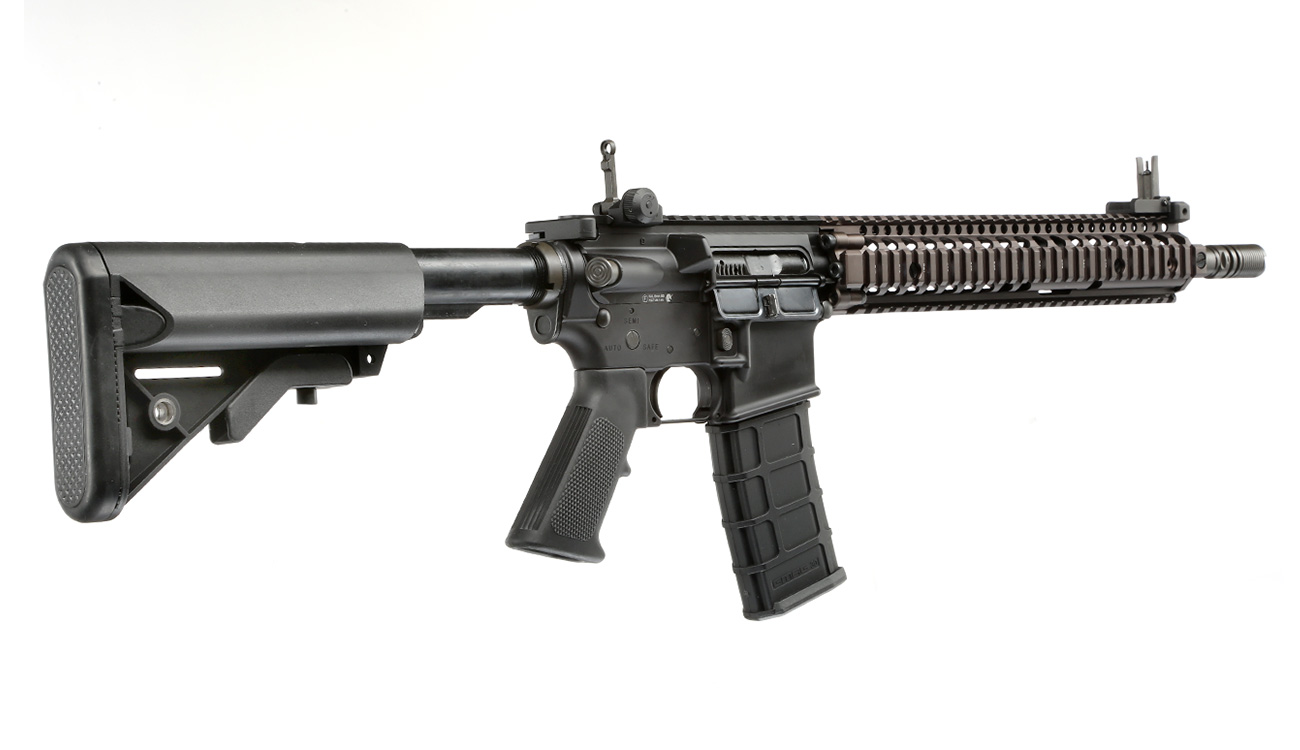 GHK Colt / Daniel Defense M4A1 RIS II Vollmetall Gas-Blow-Back 6mm BB Dualtone 3