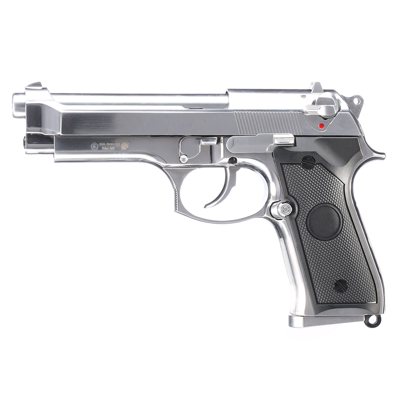 B&W Airsoft M9 Vollmetall GBB 6mm BB chrom 1