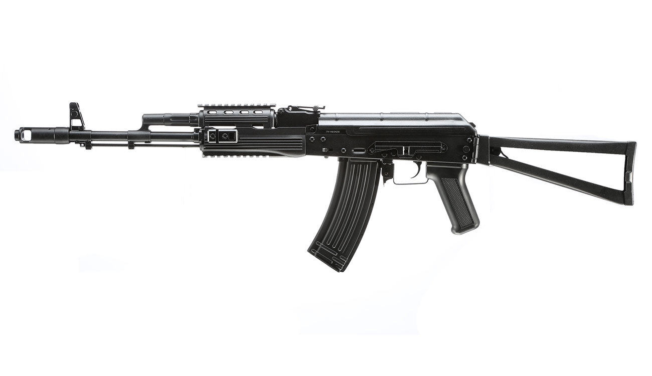 APS AKS-74 Tactical Vollmetall BlowBack S-AEG 6mm BB schwarz 1