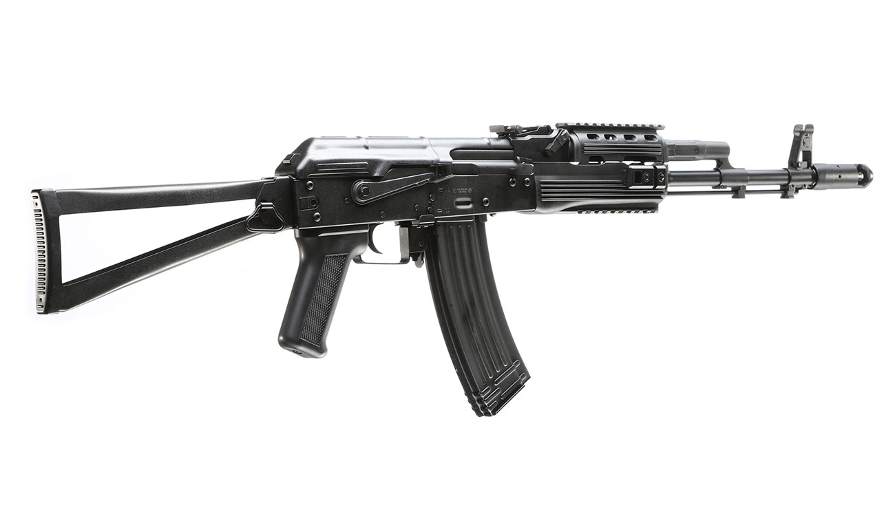 APS AKS-74 Tactical Vollmetall BlowBack S-AEG 6mm BB schwarz 3