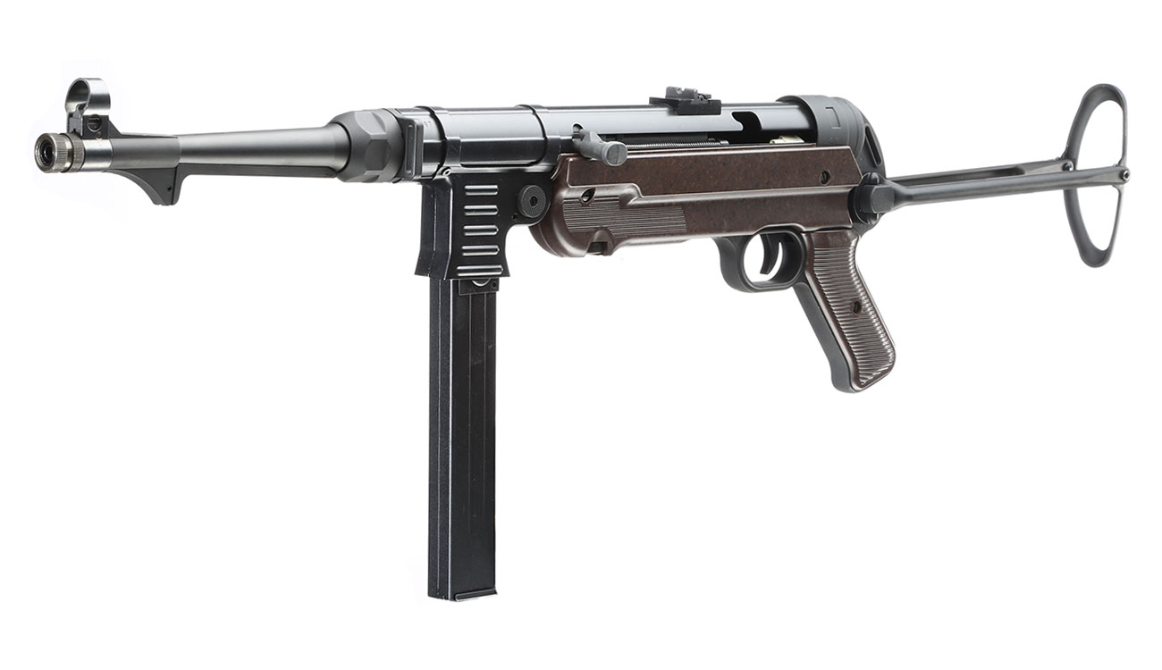 SRC MP40 Vollmetall BlowBack Gen. III AEG 6mm BB - World War 2 Deluxe Edition 1