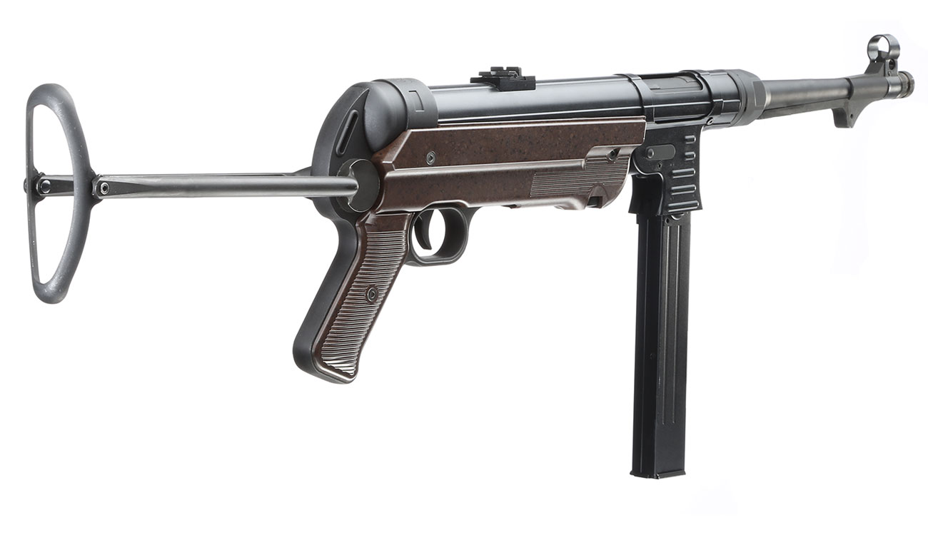 SRC MP40 Vollmetall BlowBack Gen. III AEG 6mm BB - World War 2 Deluxe Edition 4