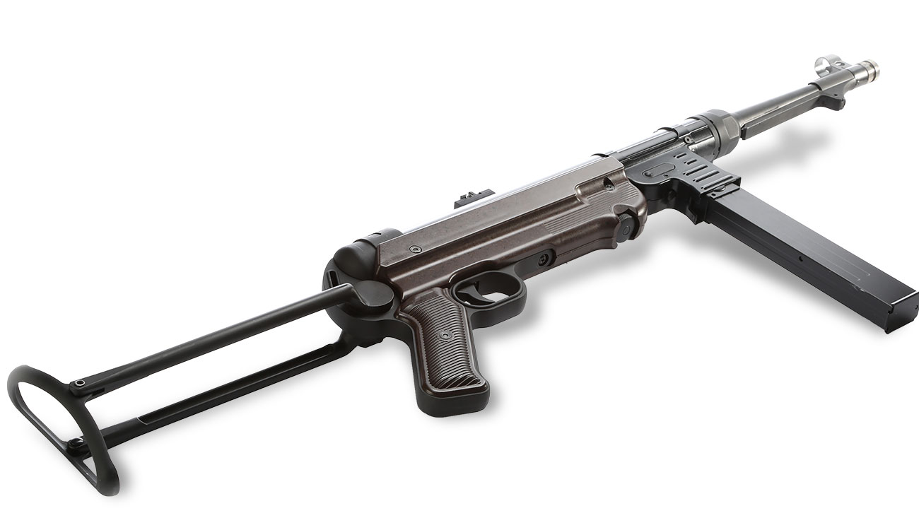 SRC MP40 Vollmetall BlowBack Gen. III AEG 6mm BB - World War 2 Deluxe Edition 6