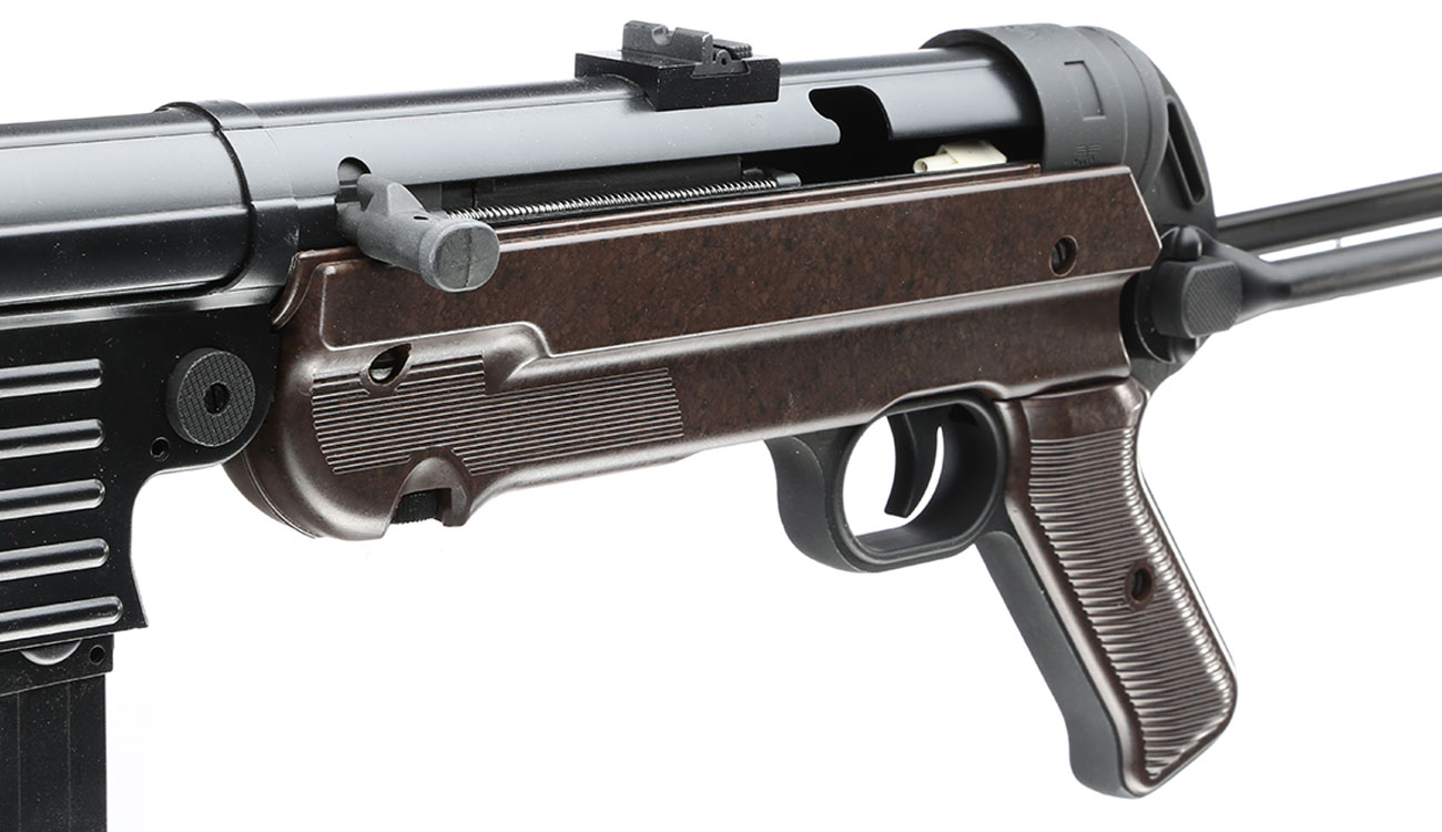 SRC MP40 Vollmetall BlowBack Gen. III AEG 6mm BB - World War 2 Deluxe Edition 8