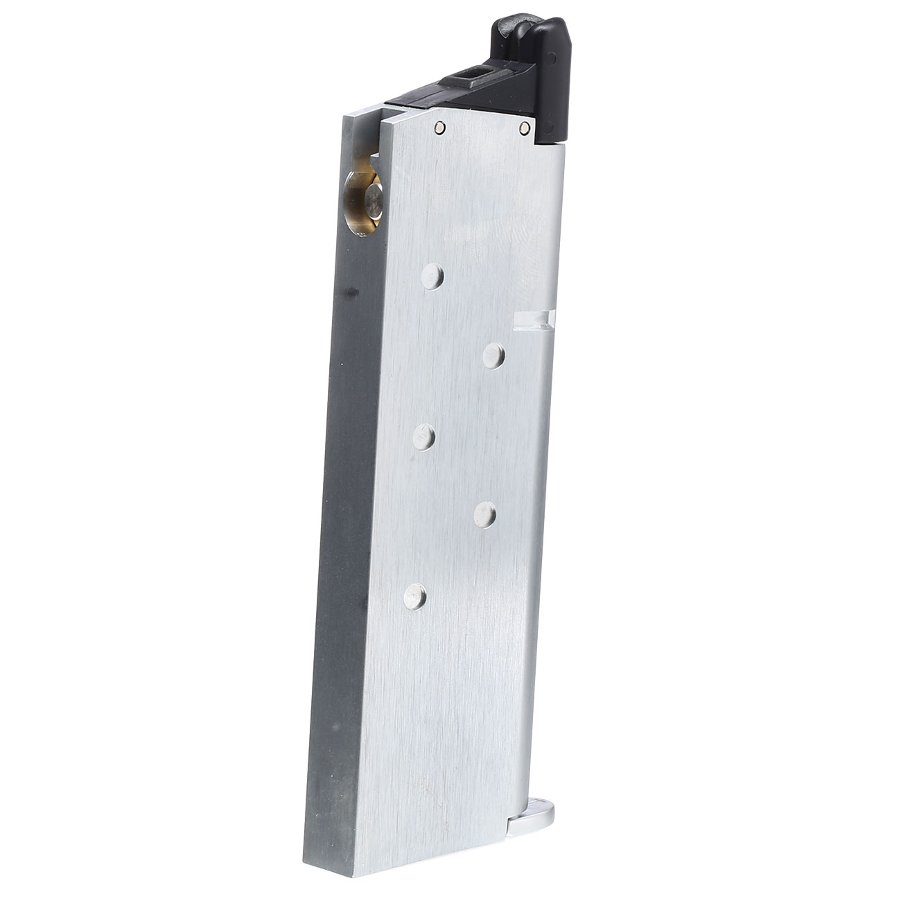 King Arms M1911 GBB Magazin 20 Schuss (Army-Type) silber 1