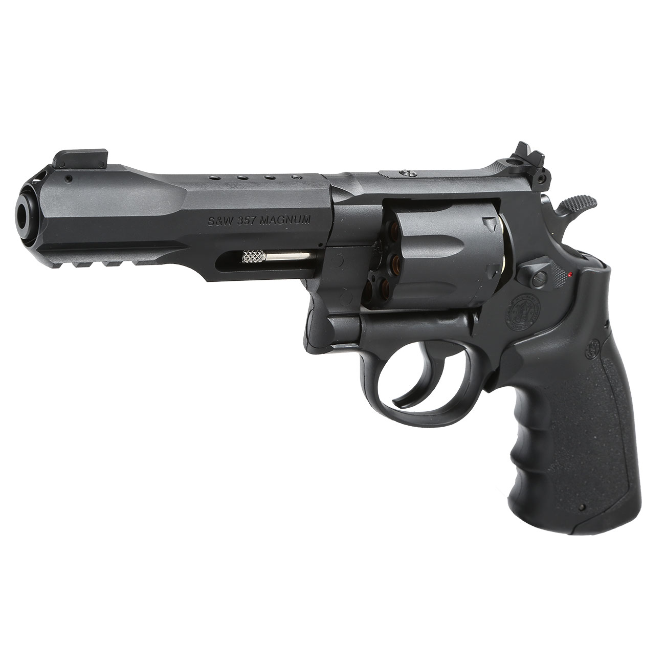 Smith & Wesson M&P R8 4 Zoll CO2 Revolver 6mm BB schwarz 0