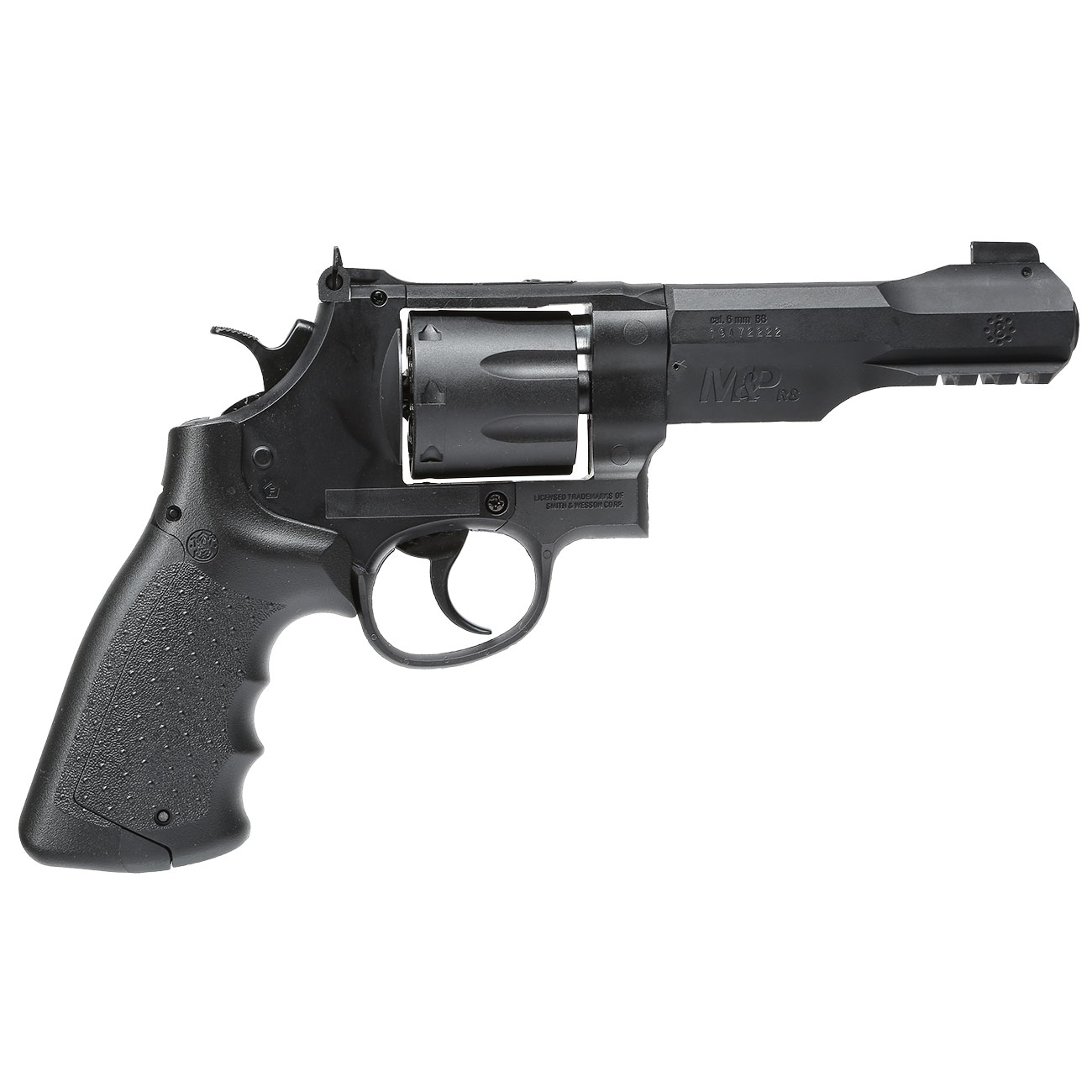 Smith & Wesson M&P R8 4 Zoll CO2 Revolver 6mm BB schwarz 2