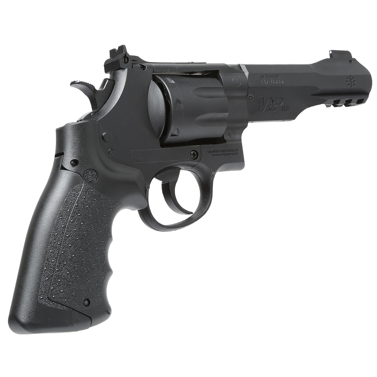 Smith & Wesson M&P R8 4 Zoll CO2 Revolver 6mm BB schwarz 3