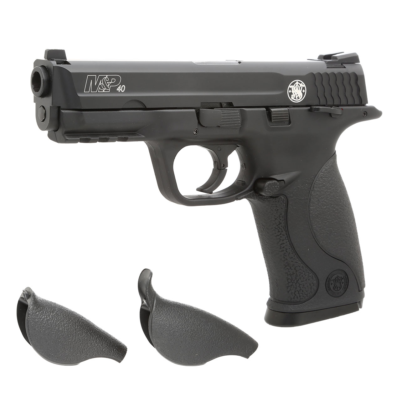 KWC Smith & Wesson M&P40 TS mit Metallschlitten CO2 BlowBack 6mm BB schwarz 0