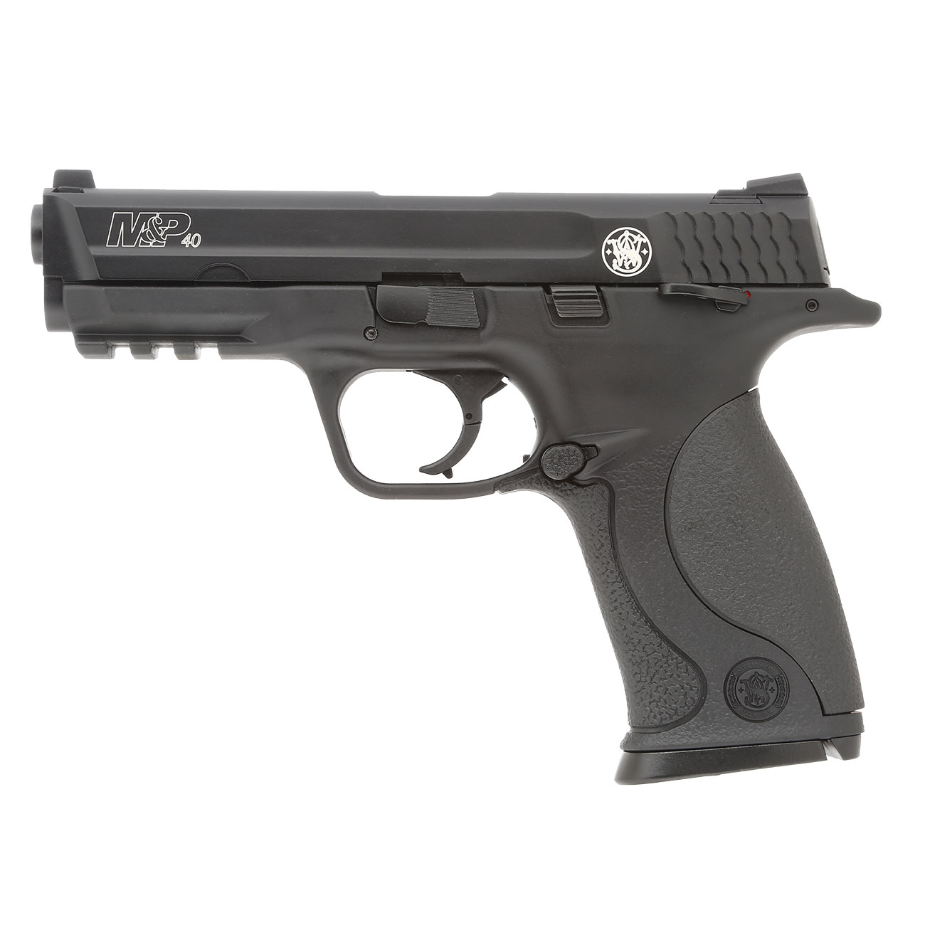 KWC Smith & Wesson M&P40 TS mit Metallschlitten CO2 BlowBack 6mm BB schwarz 1