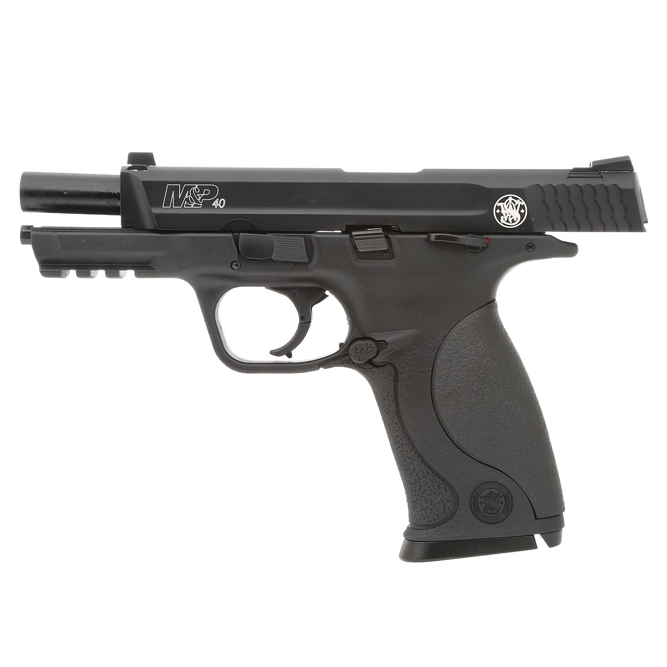 KWC Smith & Wesson M&P40 TS mit Metallschlitten CO2 BlowBack 6mm BB schwarz 2
