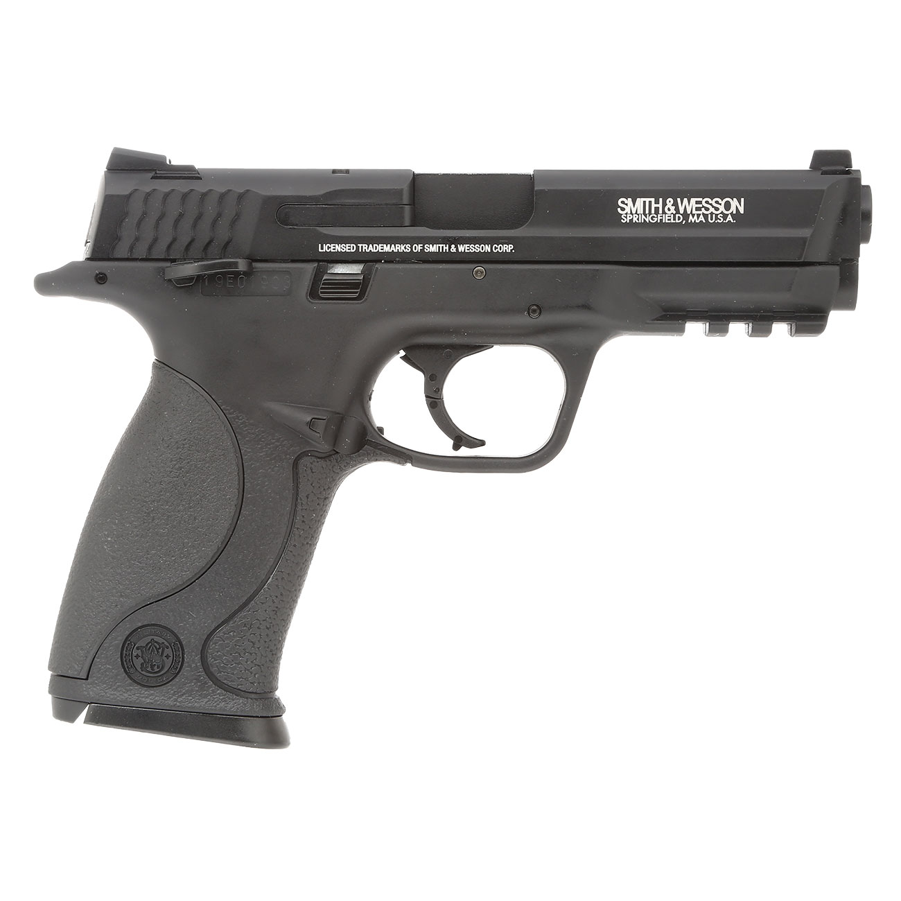 KWC Smith & Wesson M&P40 TS mit Metallschlitten CO2 BlowBack 6mm BB schwarz 3