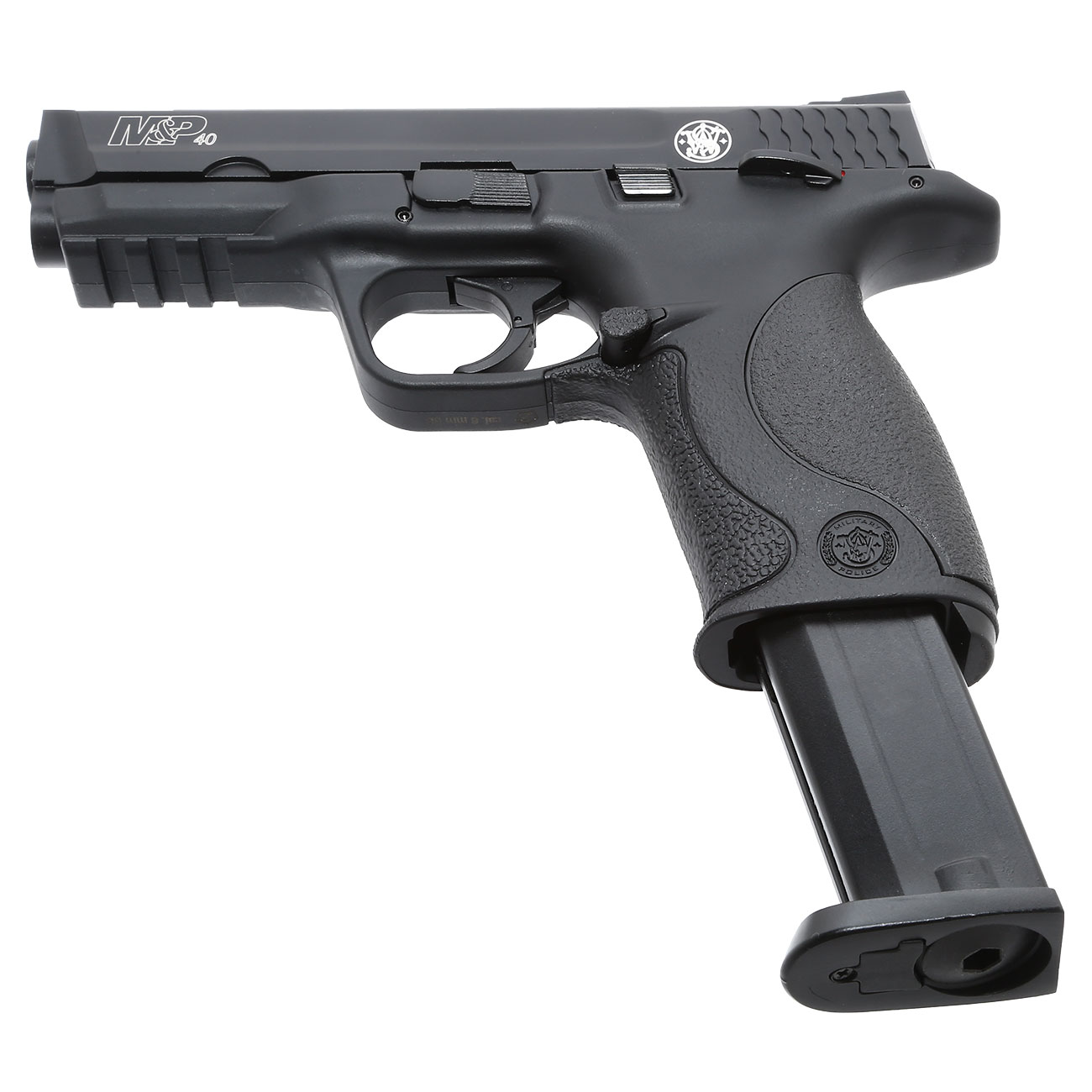 KWC Smith & Wesson M&P40 TS mit Metallschlitten CO2 BlowBack 6mm BB schwarz 5