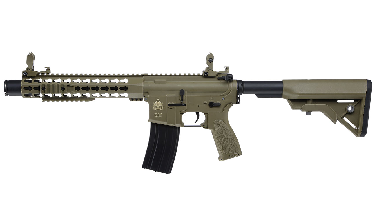 Evolution Airsoft Recon S 10 Amplified Carbontech S-AEG 6mm BB Tan 1