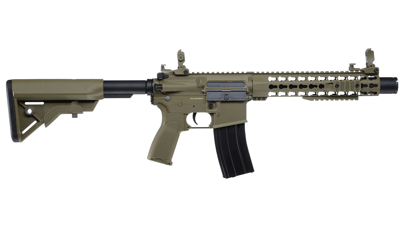 Evolution Airsoft Recon S 10 Amplified Carbontech S-AEG 6mm BB Tan 2