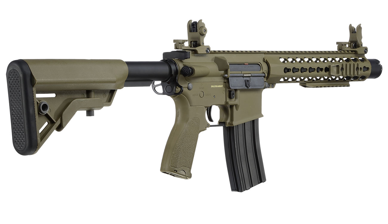 Evolution Airsoft Recon S 10 Amplified Carbontech S-AEG 6mm BB Tan 3