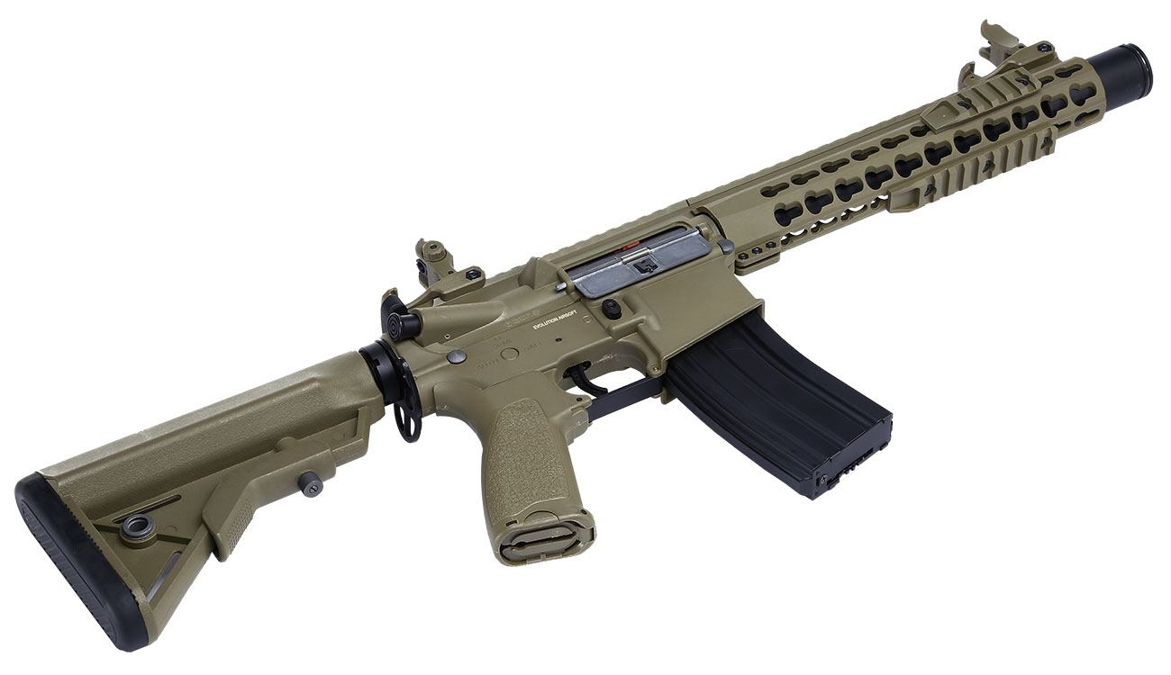 Evolution Airsoft Recon S 10 Amplified Carbontech S-AEG 6mm BB Tan 5