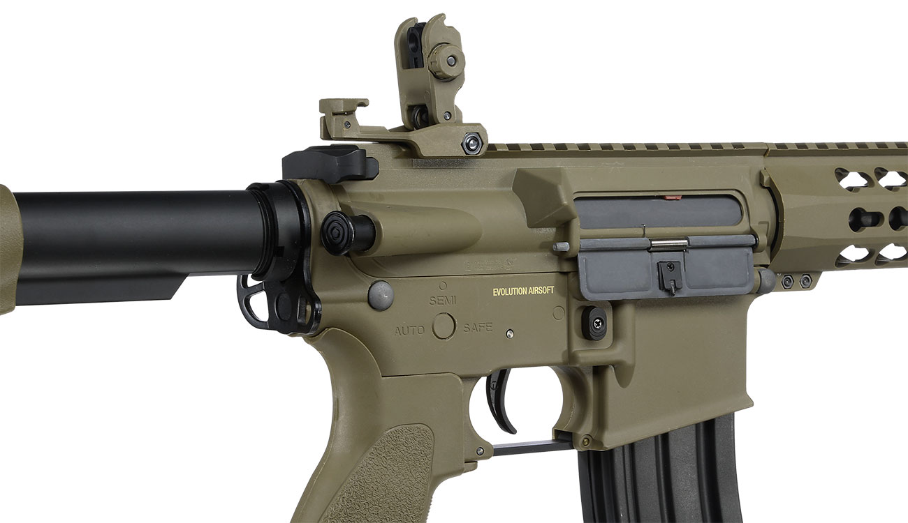 Evolution Airsoft Recon S 10 Amplified Carbontech S-AEG 6mm BB Tan 8