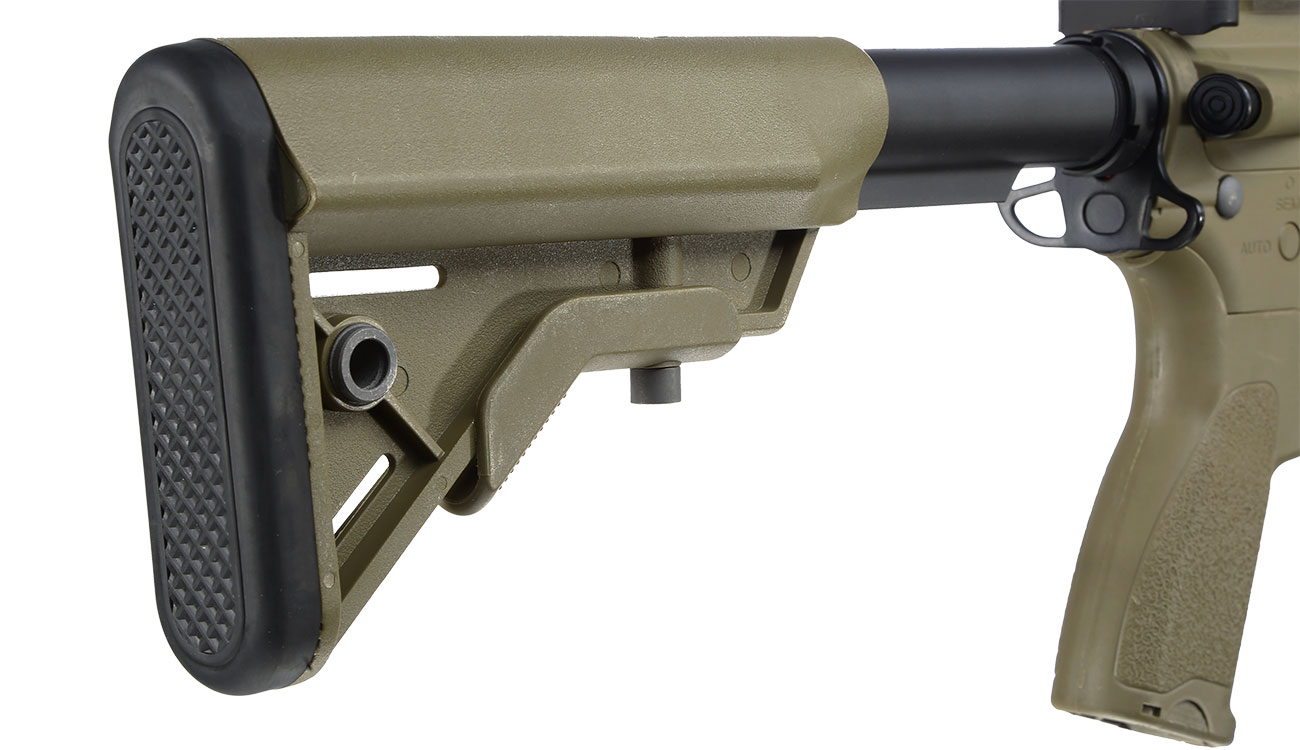 Evolution Airsoft Recon S 10 Amplified Carbontech S-AEG 6mm BB Tan 9