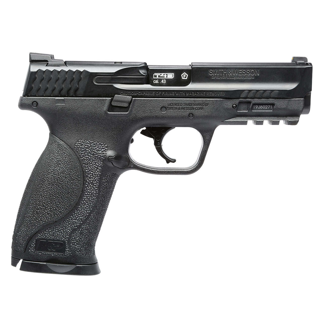 Smith & Wesson M&P9 2.0 T4E CO2-RAM Pistole Kal. 43 schwarz 3