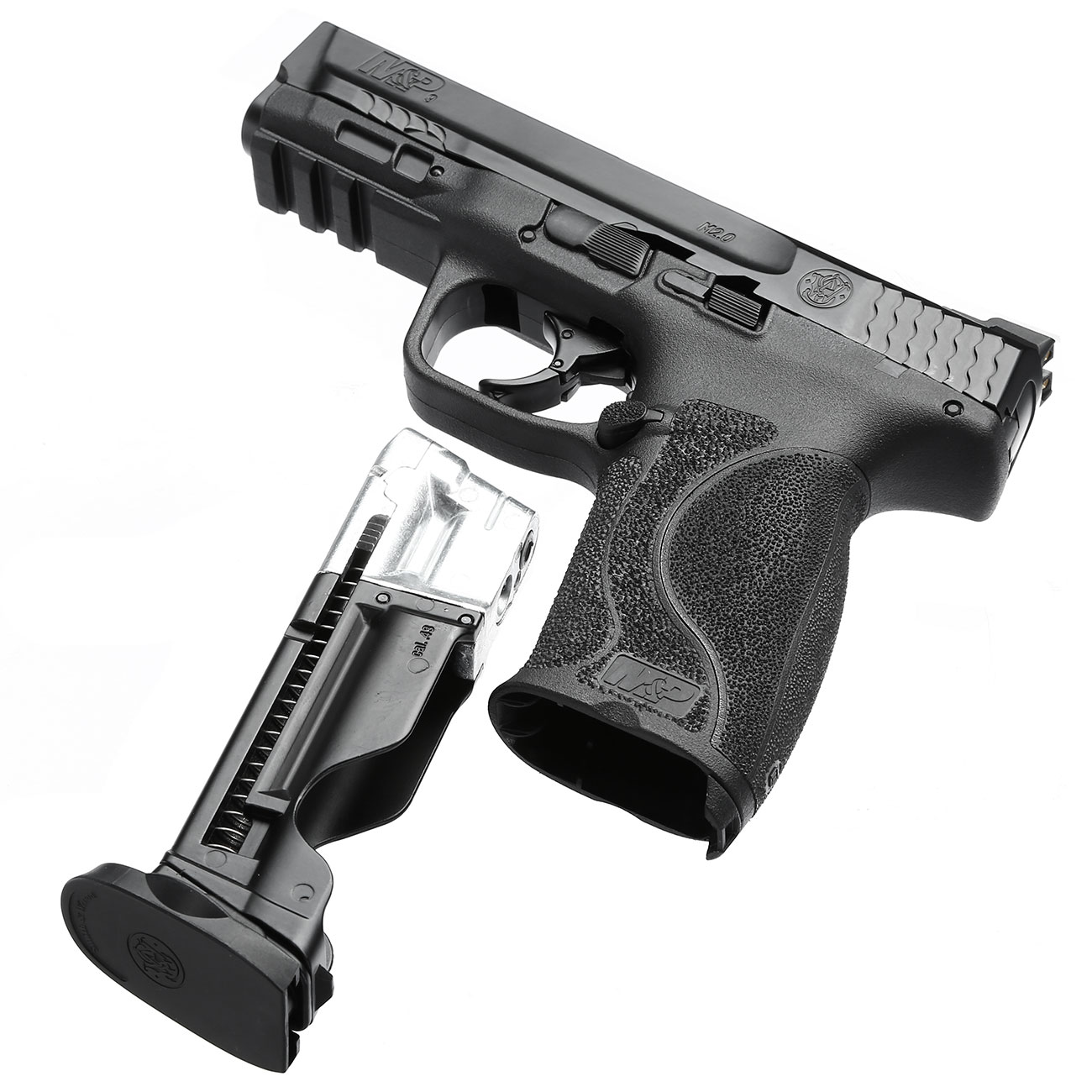 Smith & Wesson M&P9 2.0 T4E CO2-RAM Pistole Kal. 43 schwarz 4