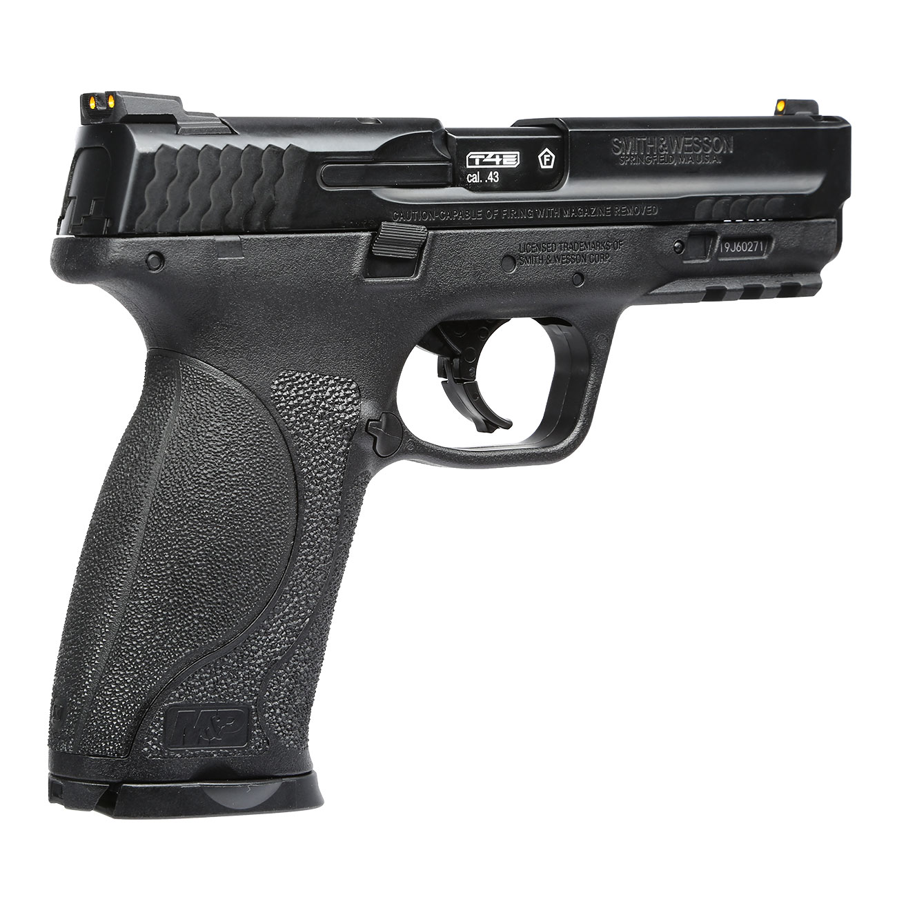 Smith & Wesson M&P9 2.0 T4E CO2-RAM Pistole Kal. 43 schwarz 7