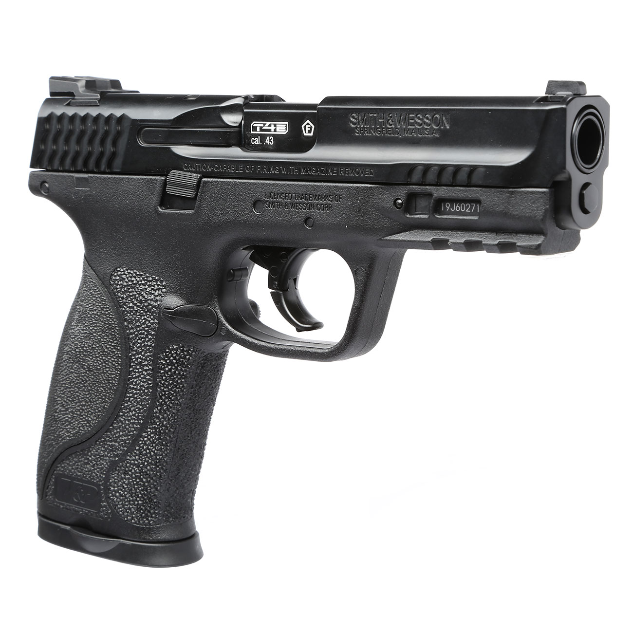 Smith & Wesson M&P9 2.0 T4E CO2-RAM Pistole Kal. 43 schwarz 8