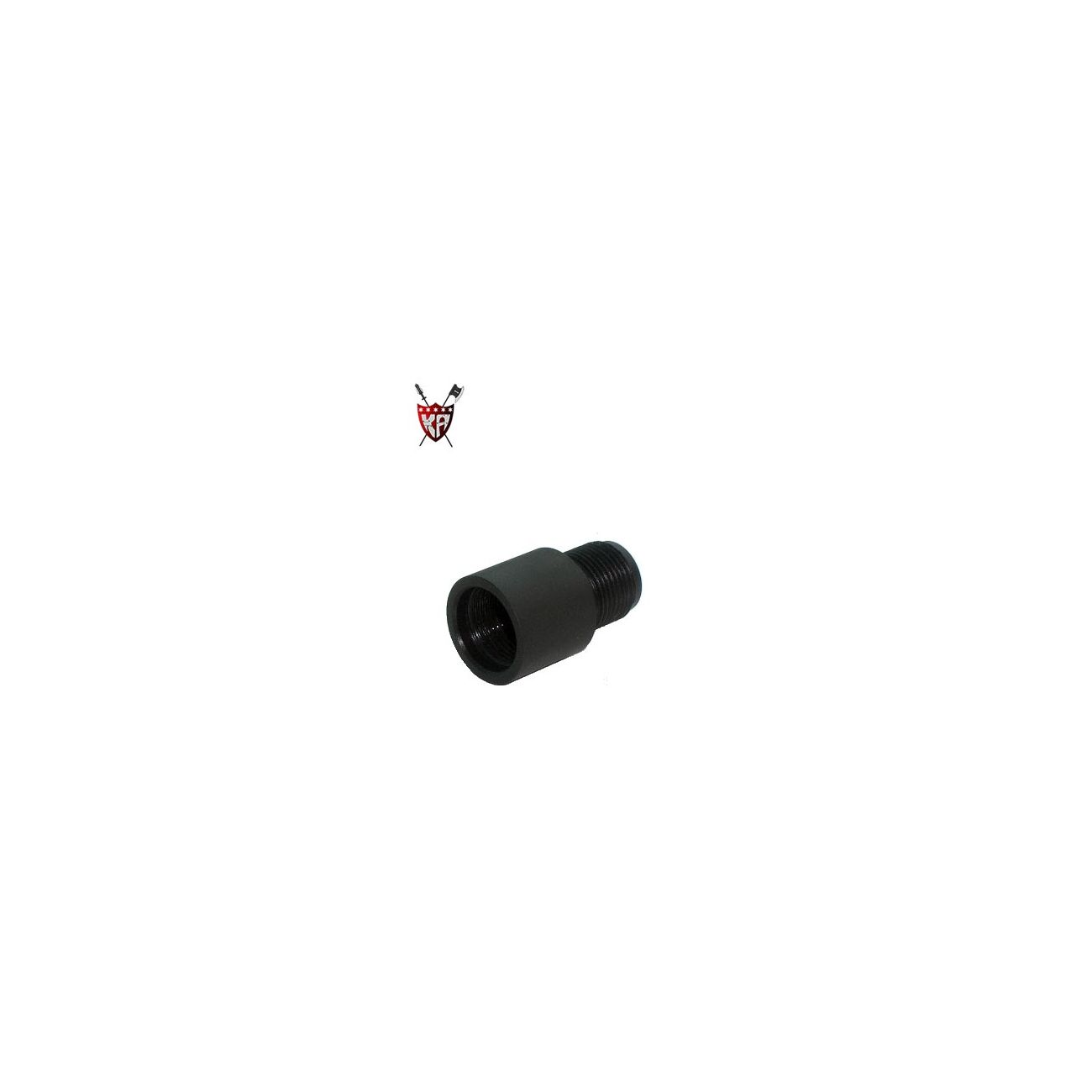 King Arms Silencer Adapter Uni 14mm+ 0