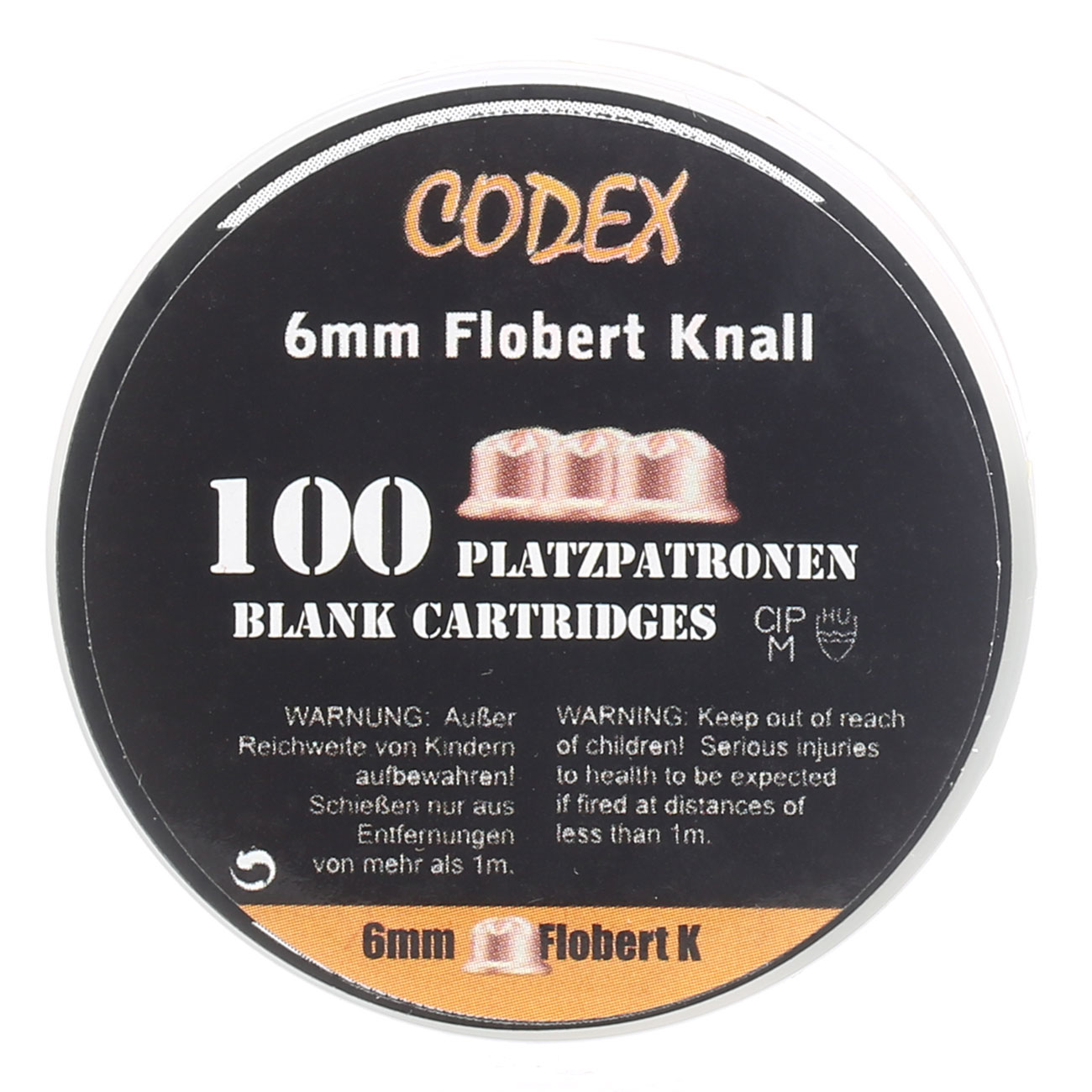 Codex Knallpatronen 6mm Flobert 100 Stück 3