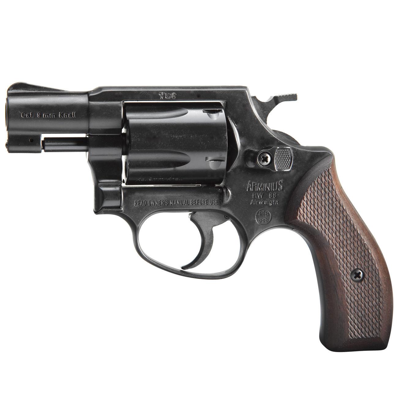 weihrauch hw88 super airweight schreckschuss revolver 9mm r k br niert g nstig kaufen kotte. Black Bedroom Furniture Sets. Home Design Ideas