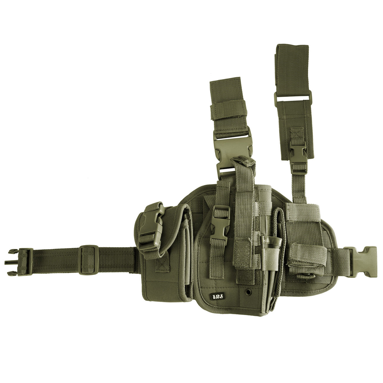 Pistolenbeinholster Tiefziehholster Universal Beinholster Rechtshänder Holster