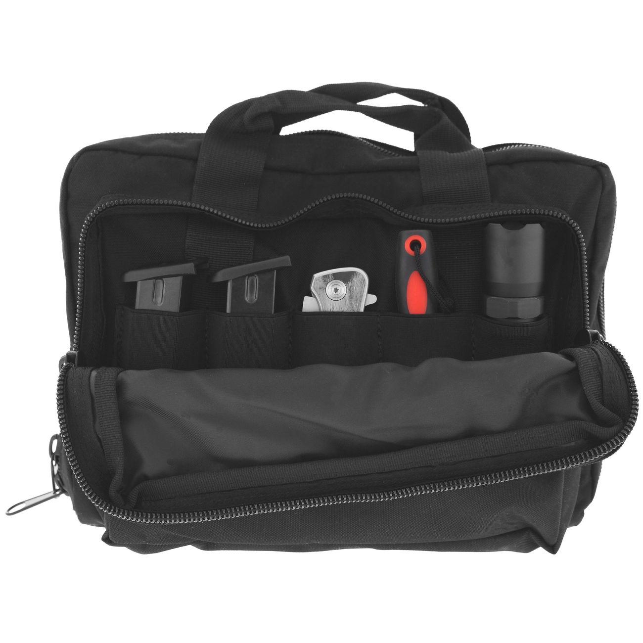 coptex doppel pistolentasche f r zwei waffen mit au entasche schwarz kotte zeller. Black Bedroom Furniture Sets. Home Design Ideas