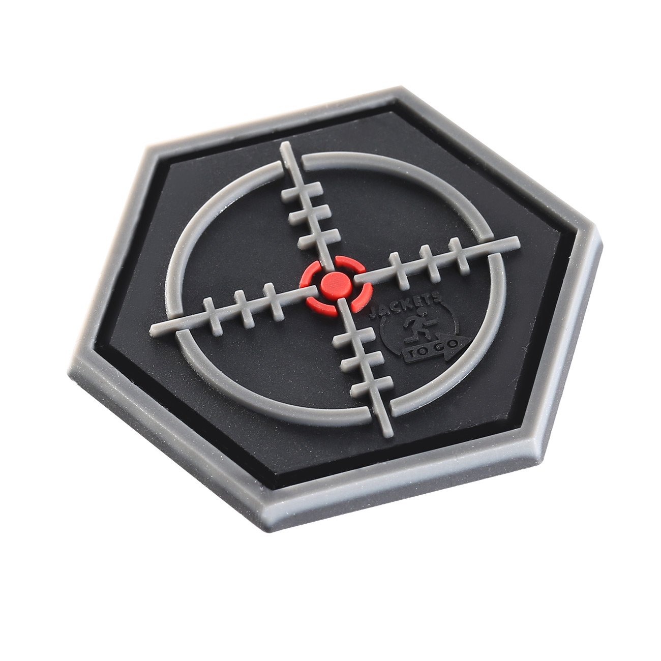 JTG  3D Rubber Patch Sniper Scope Klettfläche 1