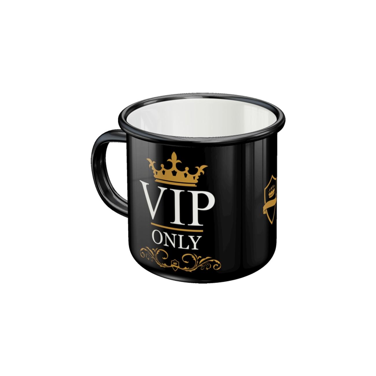 Nostalgic Art Emaille-Becher VIP Only 1