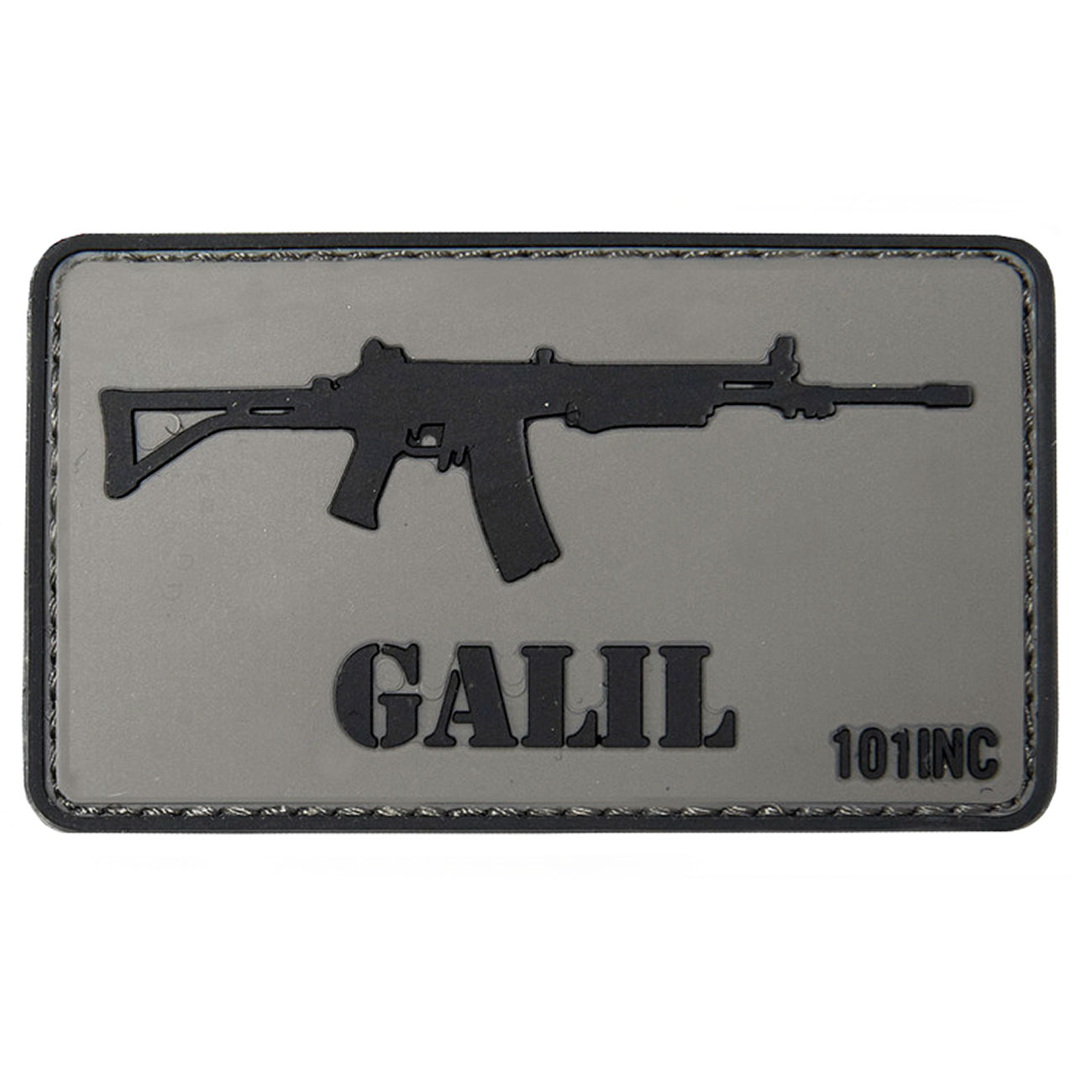 101 INC. 3D Rubber Patch Galil 0