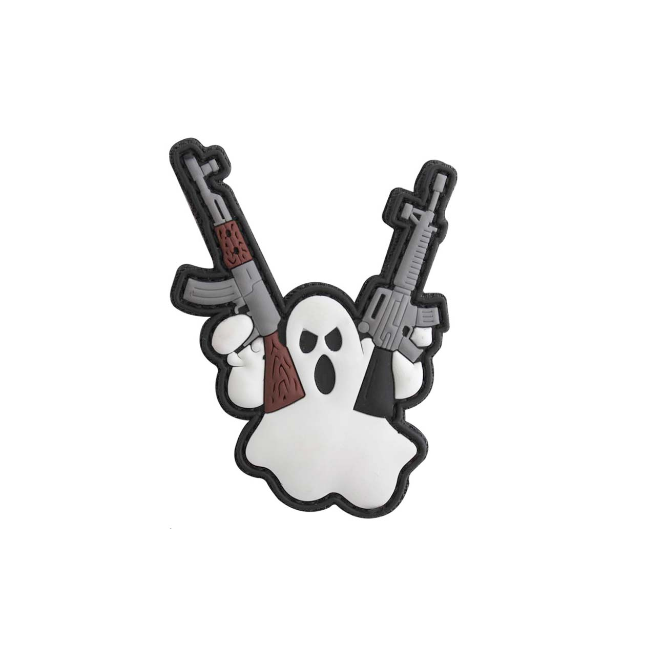3D Rubber Patch Terror Ghost 0