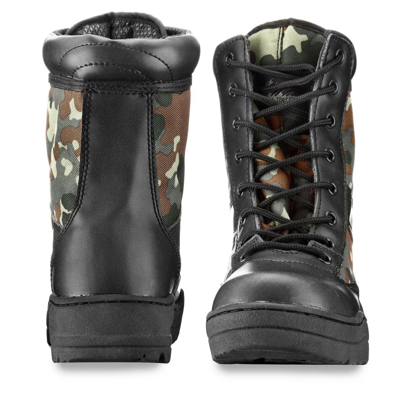 McAllister Outdoor Boots Stiefel flecktarn