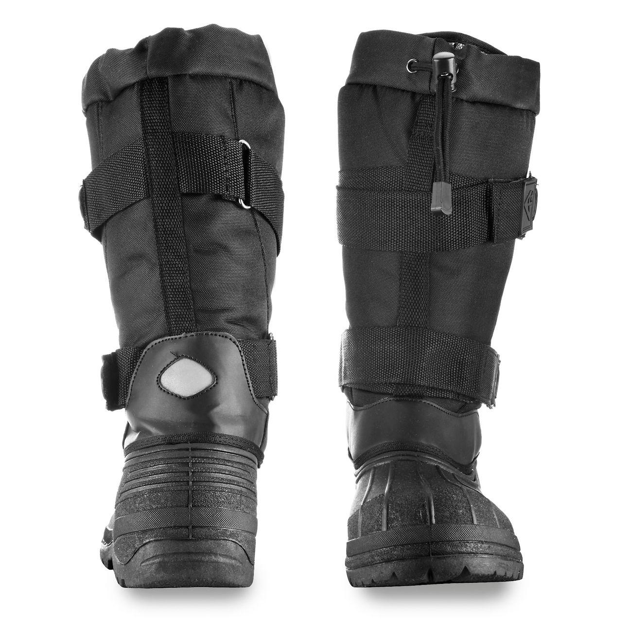 ARKTIS Gef/ütterter Stiefel mit warmen Webpelzfutter