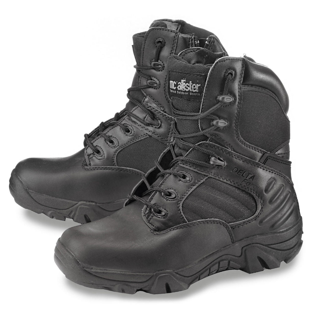 McAllister Stiefel Delta Force Tactical Outdoor Boots schwarz 4