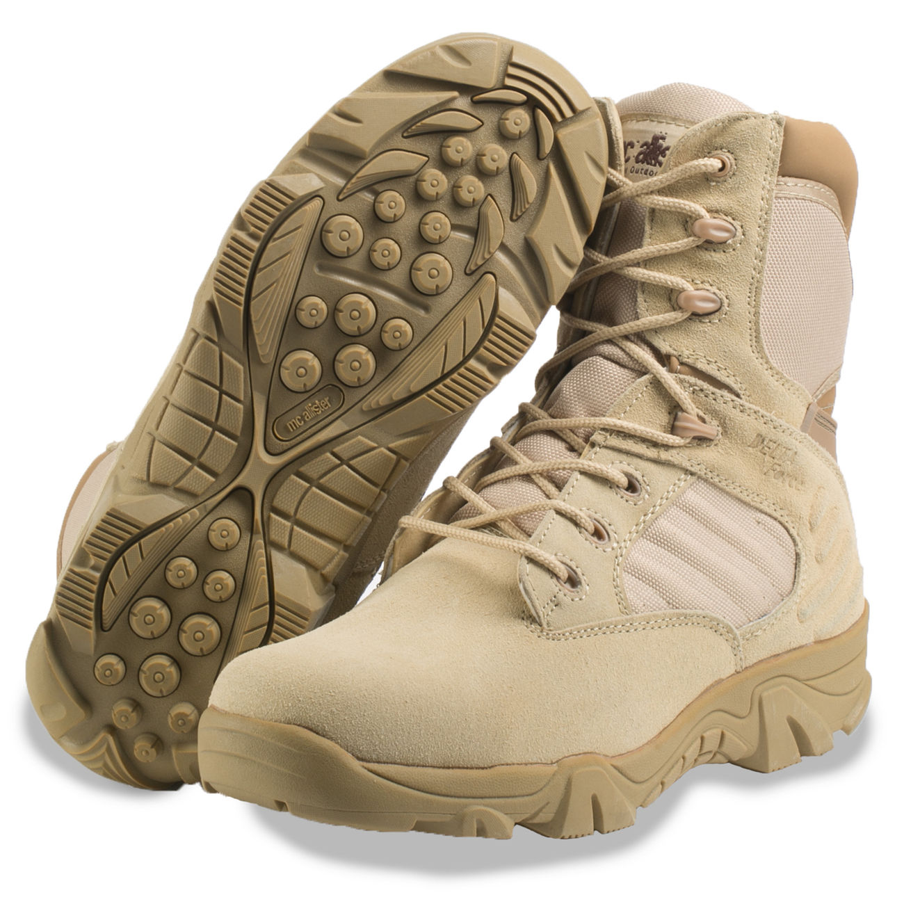 McAllister Stiefel Delta Force Tactical Outdoor Boots khaki 1