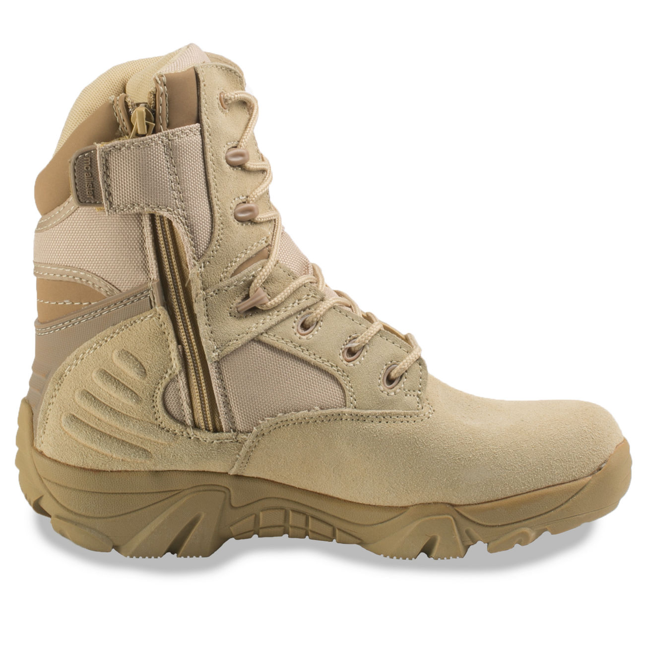 McAllister Stiefel Delta Force Tactical Outdoor Boots khaki 2