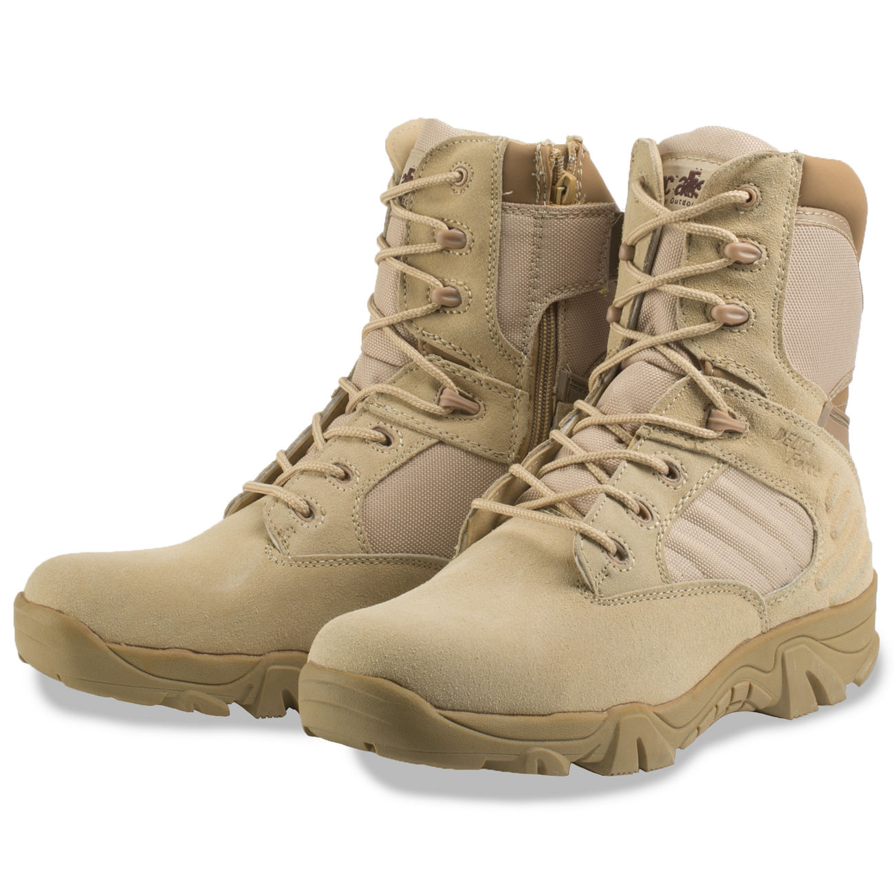 McAllister Stiefel Delta Force Tactical Outdoor Boots khaki 5