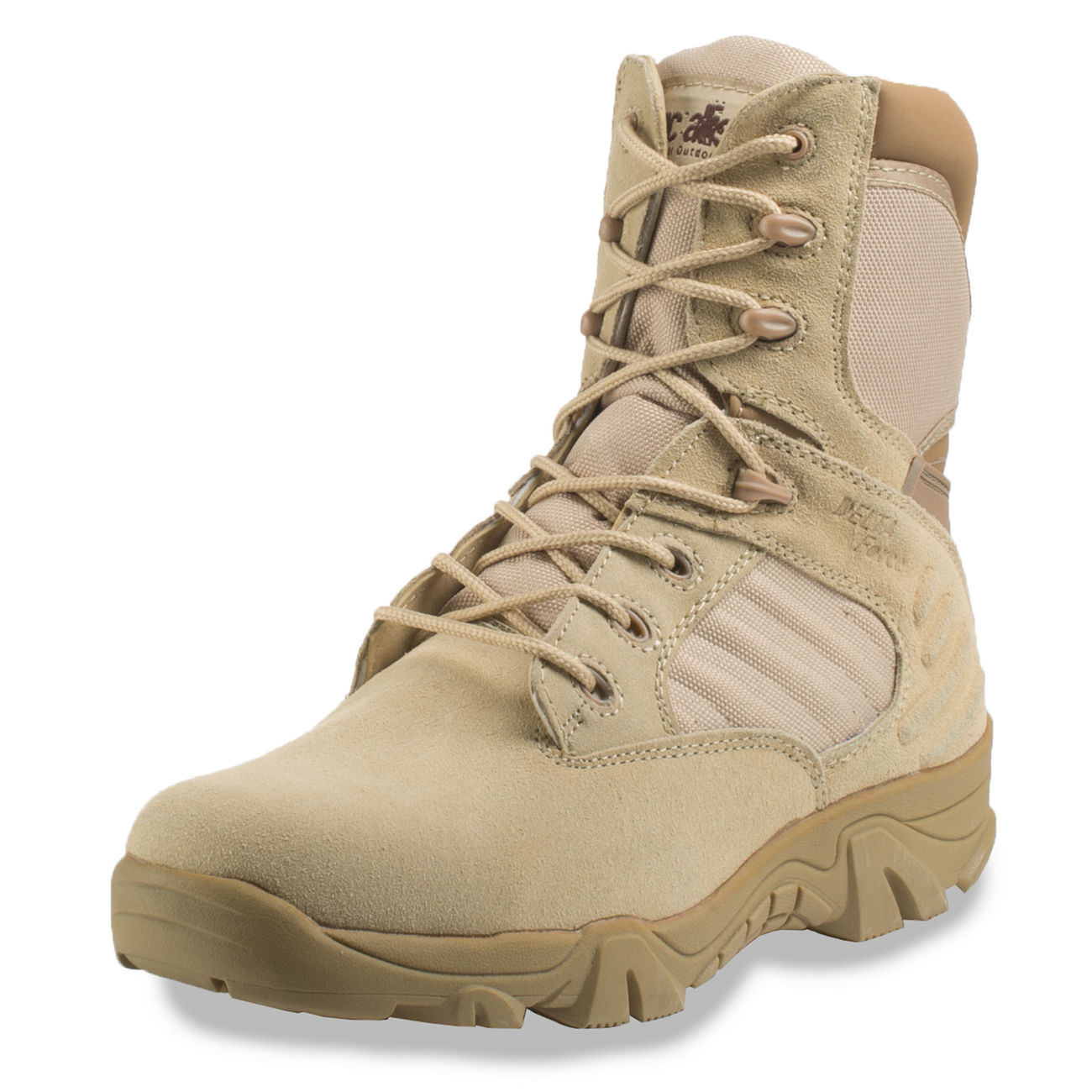 McAllister Stiefel Delta Force Tactical Outdoor Boots khaki 6