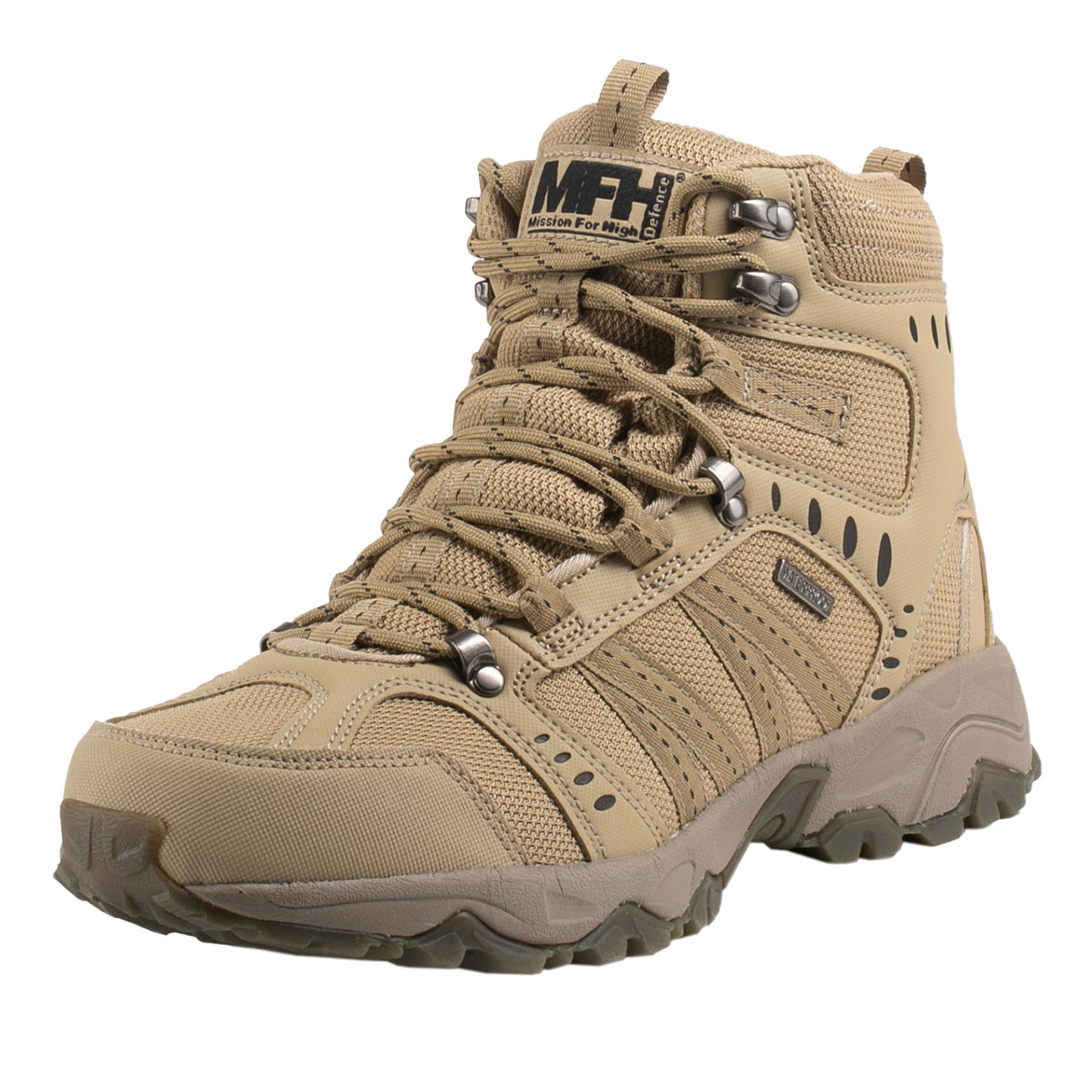 MFH Einsatzstiefel Tactical coyote tan 1