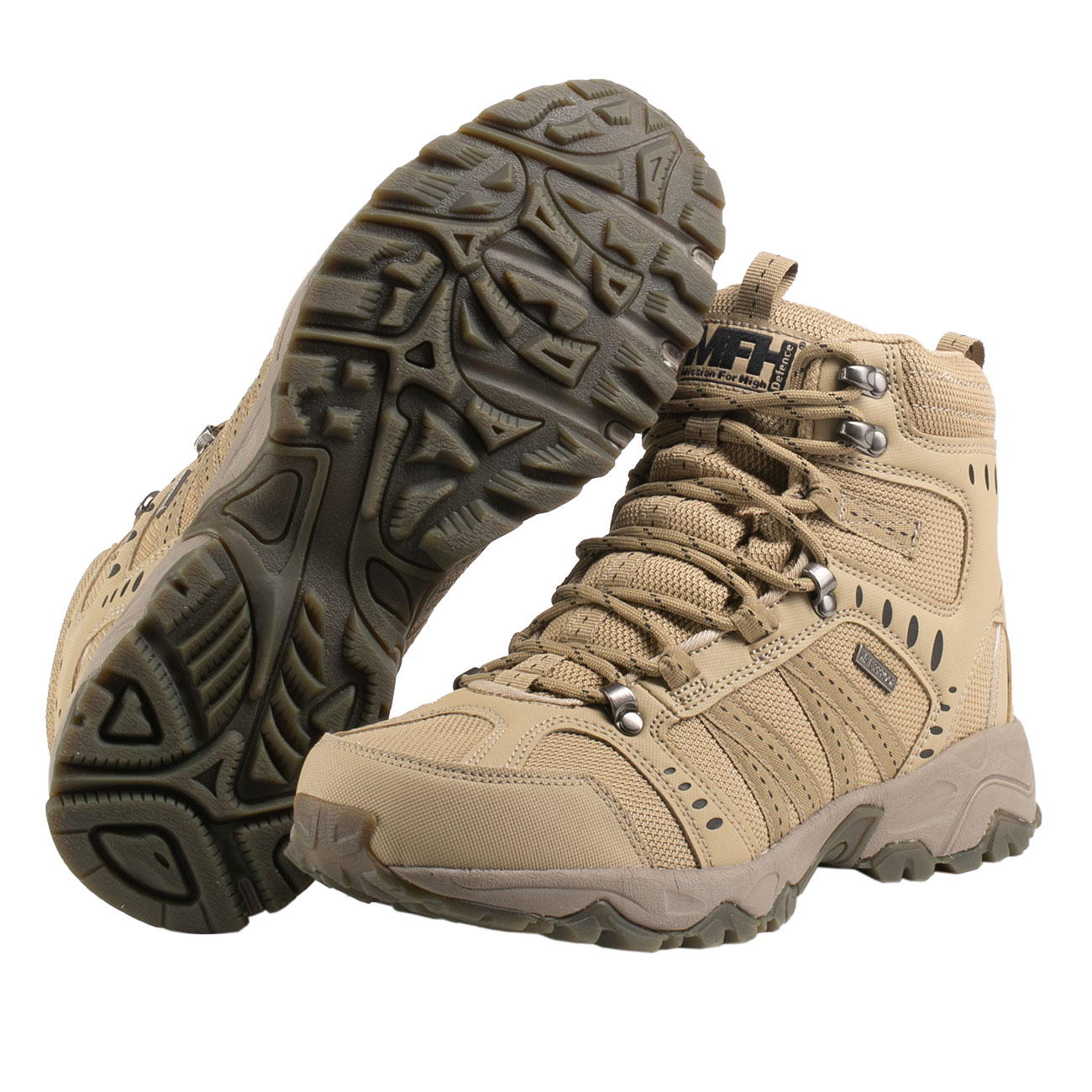 MFH Einsatzstiefel Tactical coyote tan 2