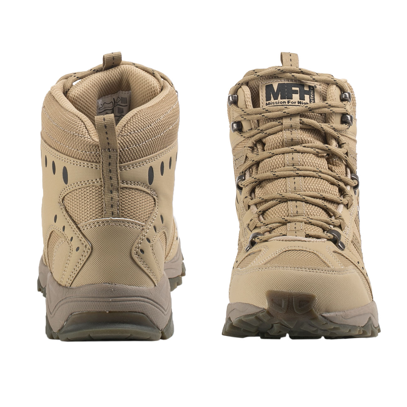 MFH Einsatzstiefel Tactical coyote tan 4