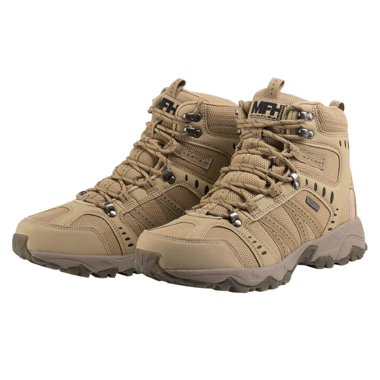 MFH Einsatzstiefel Tactical coyote tan 6