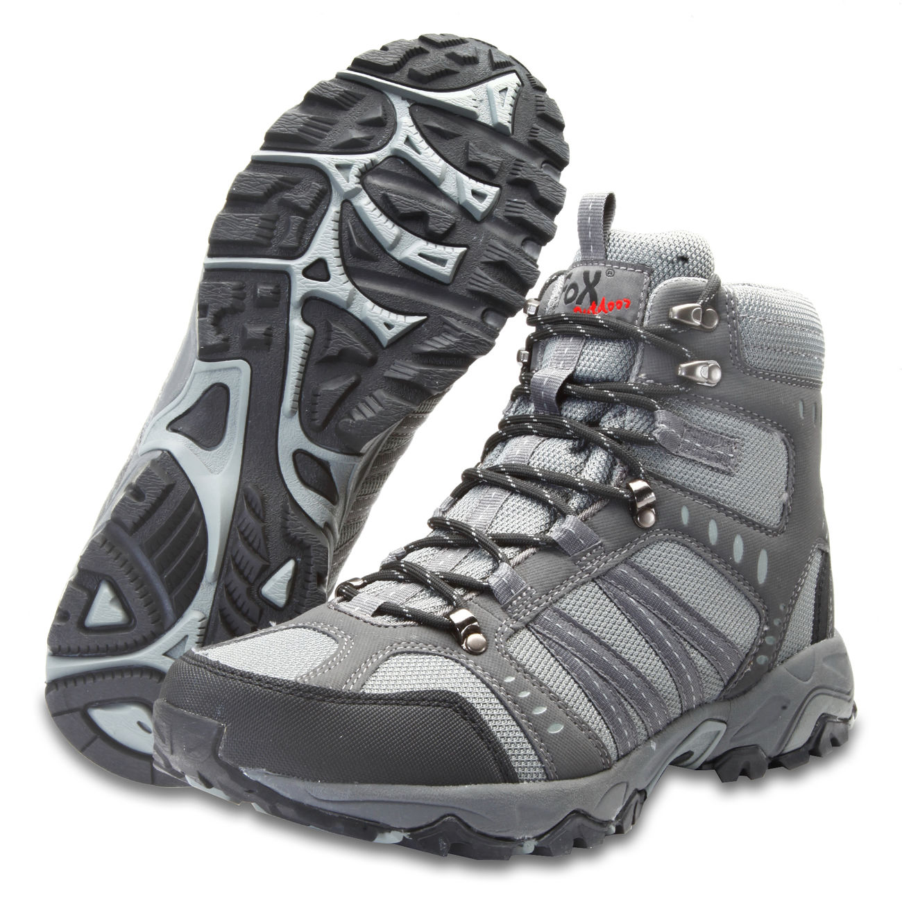Fox Outdoor Trekkingschuh Mountain High grau 1