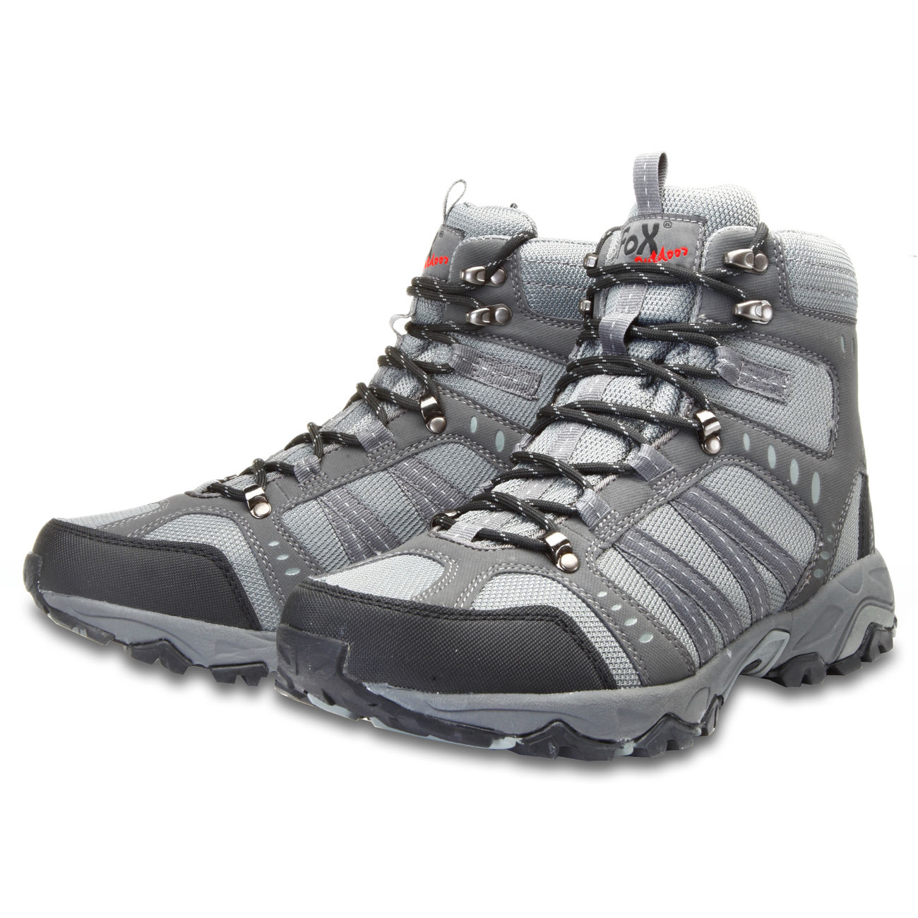 Fox Outdoor Trekkingschuh Mountain High grau 2