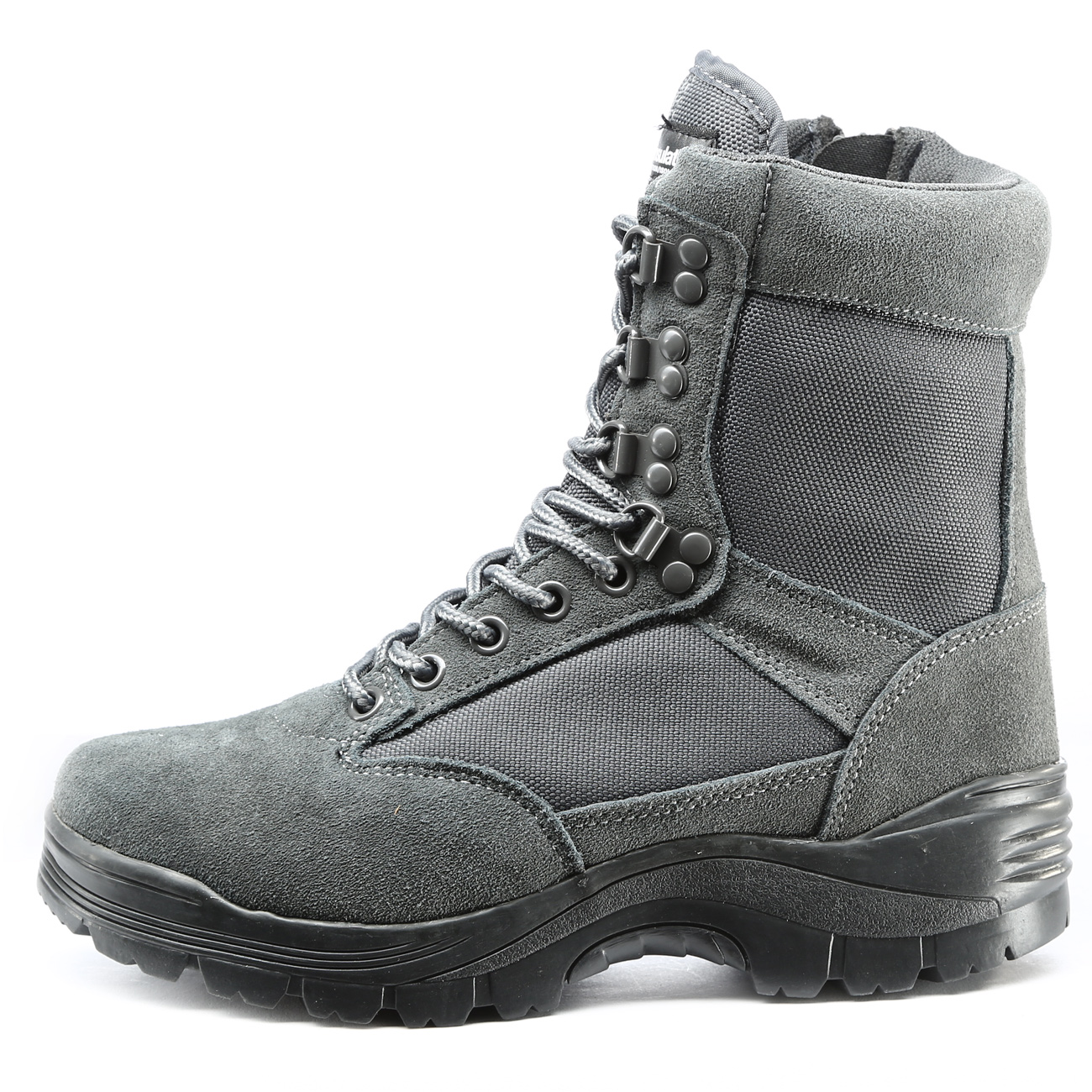 Mil-Tec Stiefel Tactical Boots YKK-Zipper urban grey 0